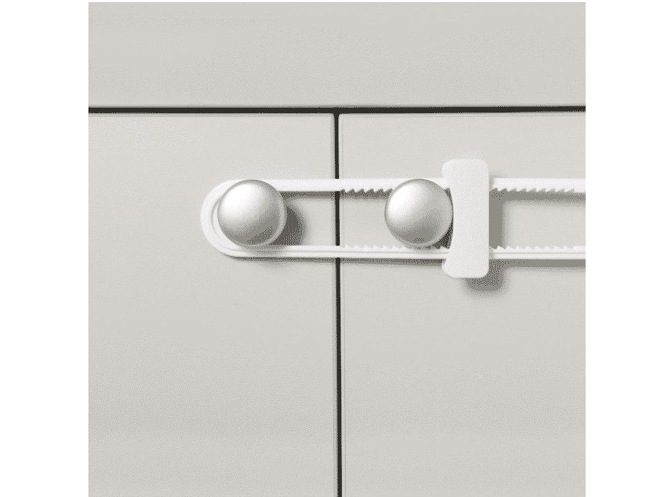 color blanco Dreambaby Seguro infantil para puerta de armario