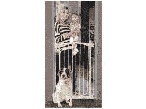 Reja de seguridad a presión separadores de ambiente seguridad infantil reja para escalera