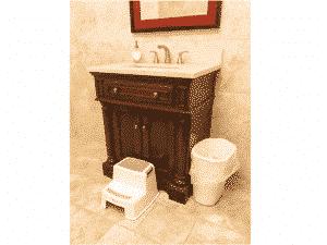 Taburete para baño escaleras para baño taburete para inodoro