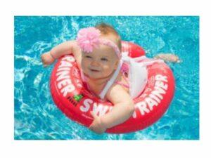 Flotador de Seguridad Swimtrainer riesgos-de-nadar-con-bebes-piscina-playa evita