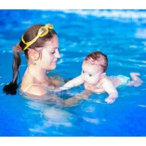 Beneficios de la natación bebe Flotador de Seguridad Swimtrainer