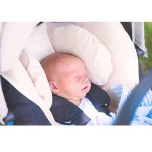 evitar asfixia-postural Cojin inflable para cuello gasa panal muselina Seguridad infantil